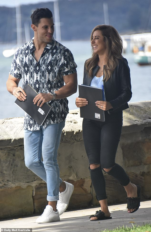 No worries! It seems Married At First Sight intruders Johnny Balbuziente and Kerry Knight are making progress, as they looked very happy while filming a date in Sydney on October 30