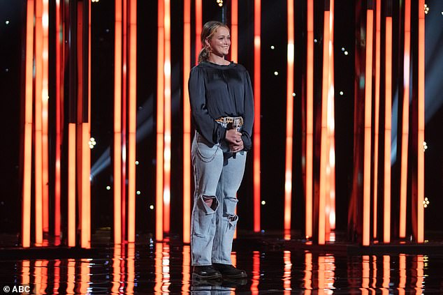 Total opposite:Hannah Everhart, 17, initially proclaimed herself 'scared' to be paired with the TikTok-famous star