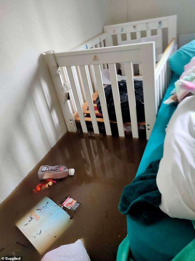 The family of six, including a seven-month-old, were left without a home to live in