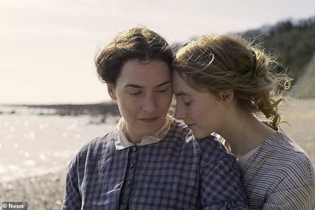 She said: 'What I definitely found really striking is that people seem to talk about the love scenes in the film in ways that are much more focused, because it's two women'