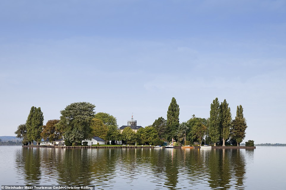Count Wilhelm of Schaumburg-Lippe, a grandson of George I, hatched a plan to build an artificial island inLake Steinhude, and the rest is history