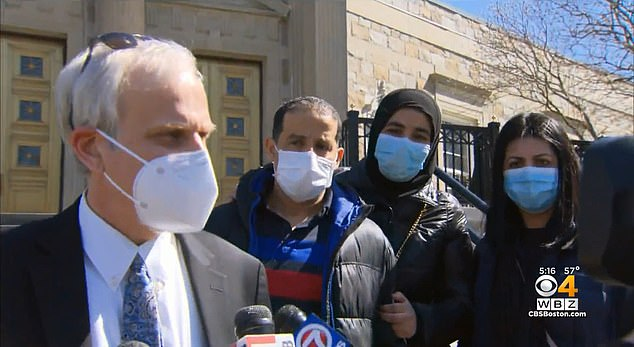 Essalak's defense attorney, Thomas Chirokas, told reporters outside the court that the incident was a 'great misunderstanding' caused by a 'language barrier'