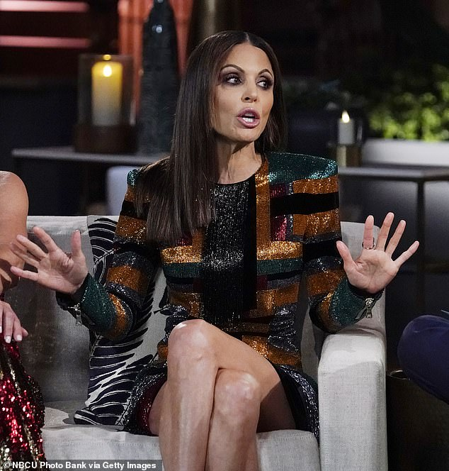 Yikes: 'Bethenny is just being petty herself, but she can't take away the cast's happiness or how hard they've worked this season during the coronavirus pandemic,' the source continued