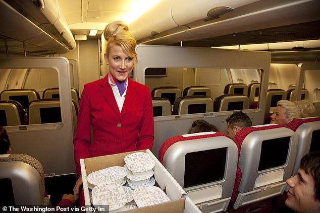 Virgin Australia will no longer serve free food on their flights to economy passengers (stock)