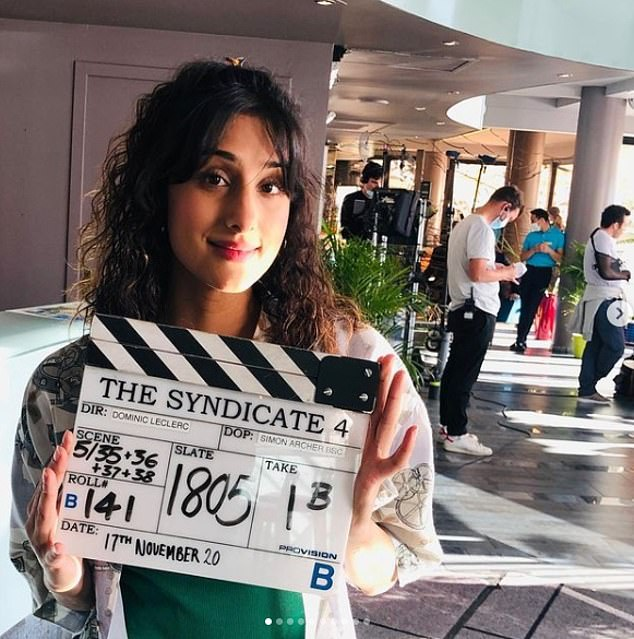 There she is:'I couldn't make the dates work alongside The Syndicate,' she told BBC Radio 5 Live this week. The Syndicate is another of the BBC's drama series, about a group of underpaid workers who win the lottery
