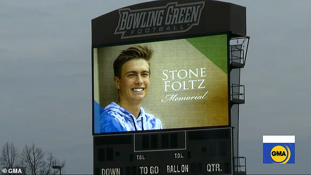 The parents of Stone Foltz allowed his organs to be donated following his death