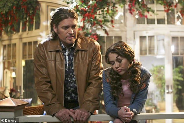 Together: Miley was on the show through some trying times, like when she lost her pappy before the premiere of the series, which also starred dad Billy Ray Cyrus