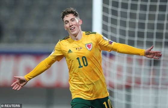 Harry Wilson broke the deadlock after finishing a wonderful team move for Wales