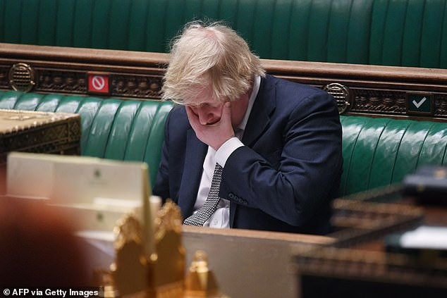 Ministers were 'looking at' adding the country to the travel ban red list and forcing French hauliers to take Covid tests on arrival in the UK, Boris Johnson said