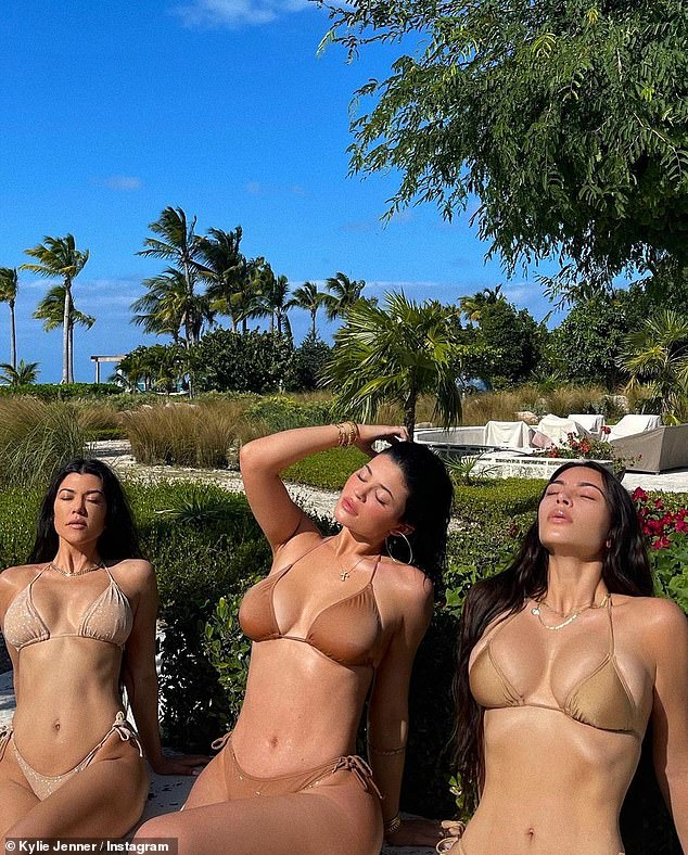 Sultry snaps:uploaded a series of never-before-seen snapshots to Instagram, which she referred to as a 'photo dump,' on Wednesday afternoon