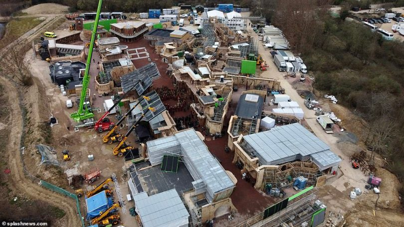Filming:Star Wars new Disney+ series Andor - which is the story of Alliance Intelligence officer Captain Cassian Andor - has been taking place in the leafy Buckinghamshire village of Little Marlow