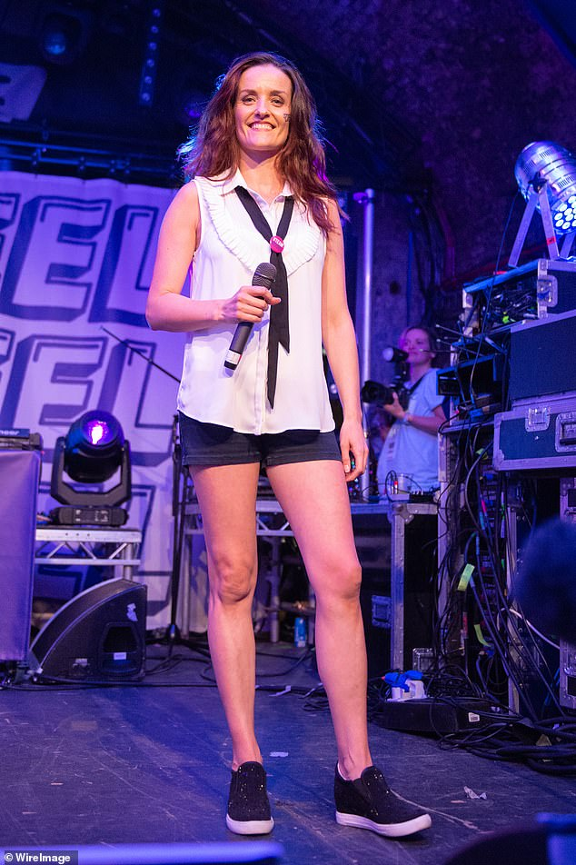 Edele (pictured) revealed in a recent episode of the B * Witched podcast that she was threatened with a chainsaw, as she moved to Ireland