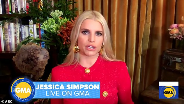 Moved: During an appearance on Good Morning America, Simpson said she decided to speak to her daughter Maxwell about the abuse after being approached by a fan at a book signing event, who said that she was inspired to seek therapy after reading her experience.