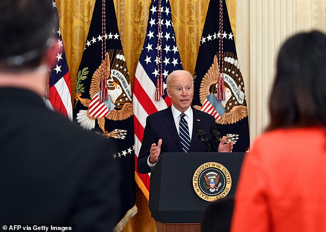 Biden held on Thursday his first press conference since taking office 65 days ago ¿ the longest a new president has waited to hold their first question-and-answer session in nearly 100 years