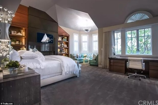Sweet Dreams - The home has five bedrooms and six and a half baths.