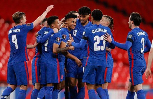 Aston Villa's Ollie Watkins scored in his England debut against San Marino on Thursday
