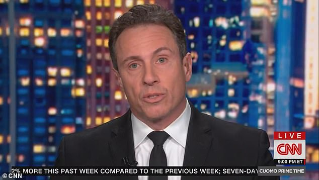 Chris Cuomo was diagnosed with COVID-19 in late March of 2020. The CNN anchor was swabbed by a top state health department doctor who visited his Hamptons home to collect samples from him and his family, according to sources