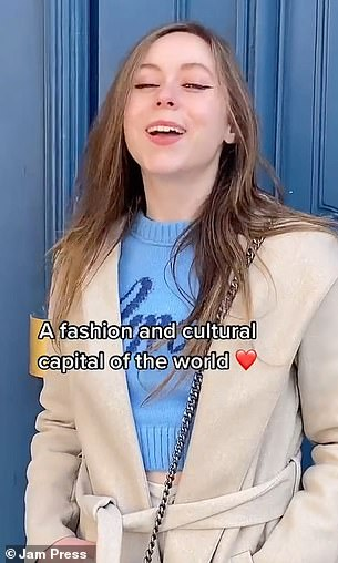 She added Paris was a fashion and cultural capital of the world