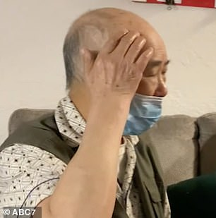 Liao required six stitches to close a wound on his head and spent four nights in the hospital