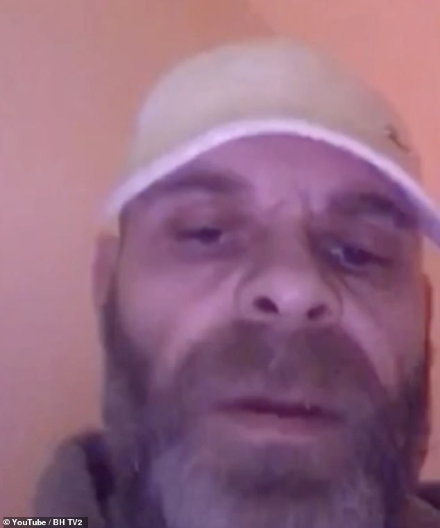 'This is it everyone': Former East 17 star Brian Harvey live streamed on YouTube the moment he was arrested on suspicion of malicious communication