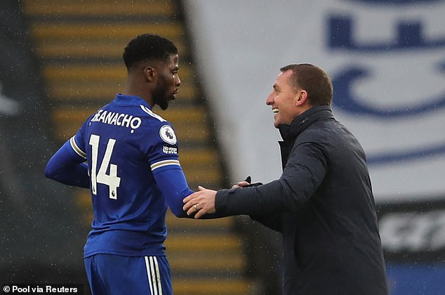 Brendan Rodgers' arrival at Leicester manager and the forward can now handle the pressure