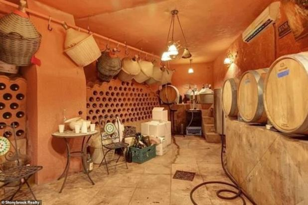 Lap of Luxury - Your home boasts features such as a wine cellar whose architectural style recalls the family's Italian roots.