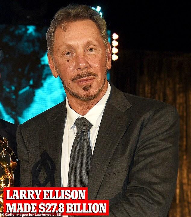 Larry Ellison, Oracle boss