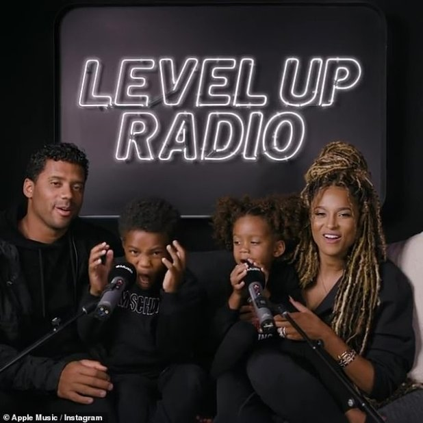Opening: Continuing to give fans a glimpse of their healthy and loving relationship, Ciara and Russell shared a recent interview they did for their #LevelUpRadio show.