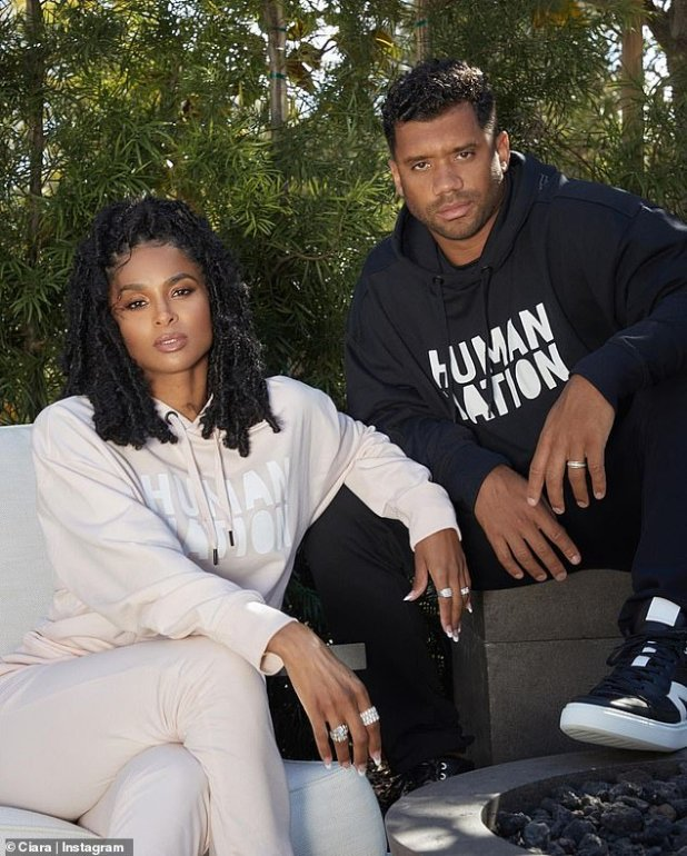 Proud: During an interview with Vogue, Wilson spoke about the couple's commitment to remain environmentally conscious, noting that they were happy to go the extra mile to produce eco-friendly clothing.