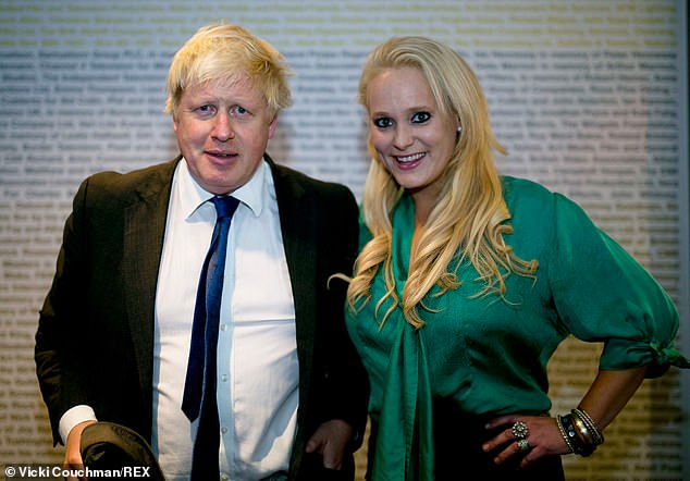 Jennifer Arcuri has claimed that she and Boris Johnson (together in 2014) had four-year affair where she sent him 'arty' topless pictures - but insists they had an 'intellectual attraction'