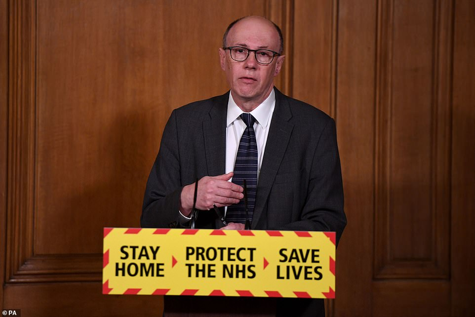 NHS England's national medical director yesterday warned the nation not to 'squander the gains' made against coronavirus ahead of a major easing of the lockdown on Monday