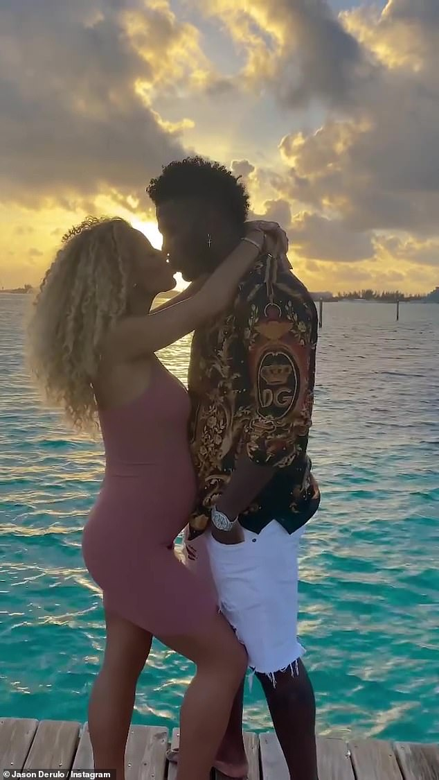 Oh baby! Derulo and his girlfriend Jena announced they were expecting their baby back in March