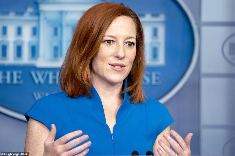 White House press secretary Jen Psaki said Sunday the Biden administration was committed to transparency and 'we're working to get that done as soon as we can.'