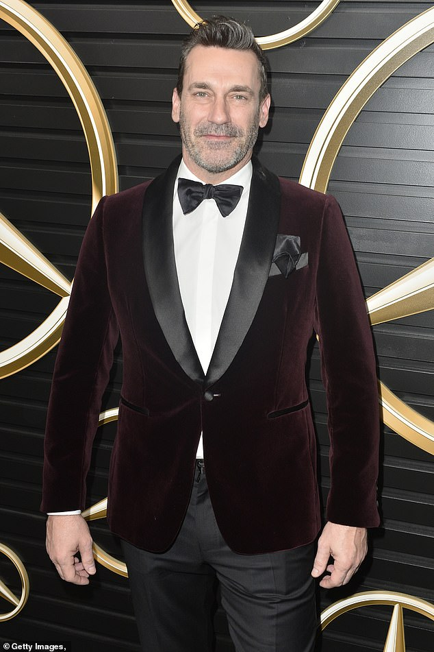 New gig: Jon Hamm will voice the role of Tony Stark / Iron Man in Marvel's upcoming adult animated series M.O.D.O.K.; he is pictured in February 2020
