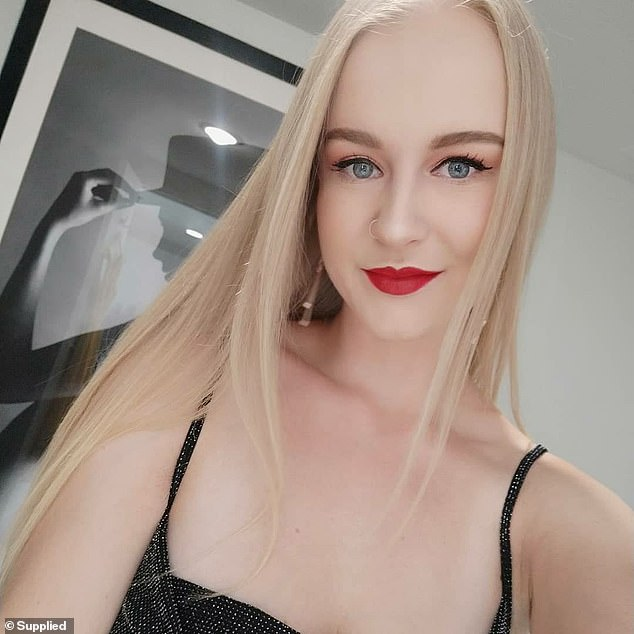 Michaela Dunn (pictured), 24, was killed byMert Ney with a butchers knife in 2019
