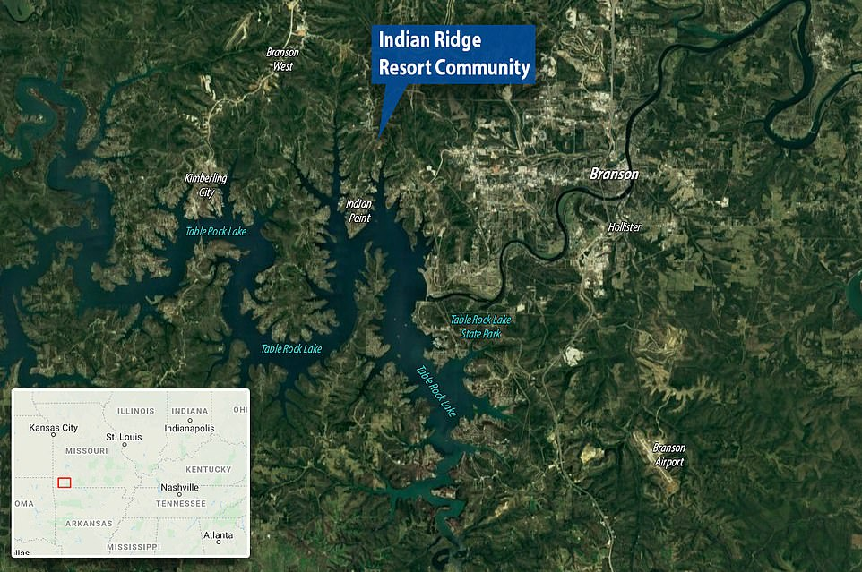 The Indian Ridge Resort Community, near Table Rock Lake in Missouri, collapsed after the 2008 financial crisis. A new development on the same site, called The Ridge at Table Rock Lake, is seeking investors