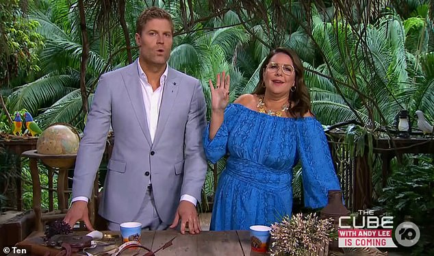 Busy schedule:Ten's I'm a Celebrity … Get Me Out of Here, featuring Julia Morris and Dr Chris Brown (pictured), The Amazing Race, hosted by Beau Ryan and MasterChef may be filming in November