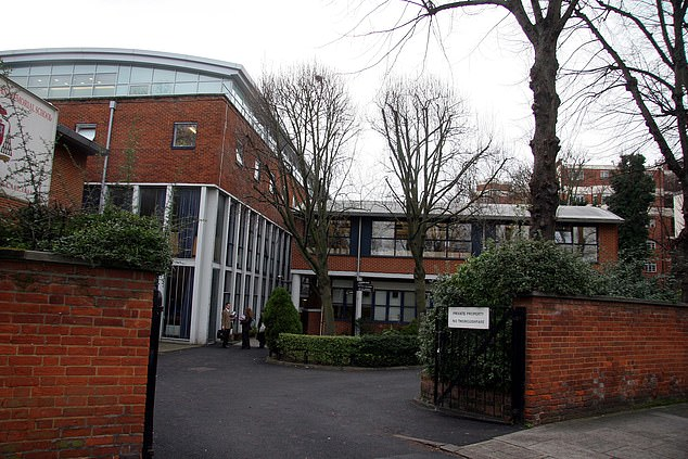 An exterior view of Cardinal Vaughan Memorial School, which is the subject of claims on Everyone's Invited