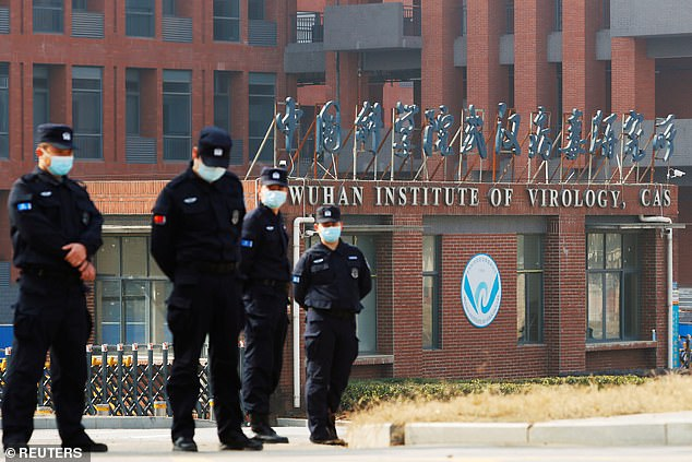US theory: Washington has touted claims that the virus could have leaked out of the high-security Wuhan Institute of Virology, pictured last month