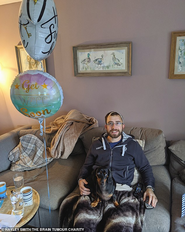 Hayley started creating their homespun lockdown memories in April 2020 after a scan revealed Matt's tumour was growing back, a month into the first lockdown