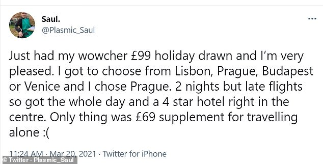 One customer was happy with their destination but had to pay £69 for travelling alone