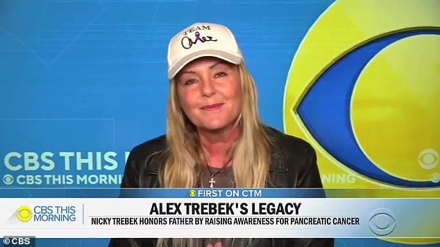 Too fresh: Alex Trebek's daughter Nicky revealed she has not tuned in to watch Jeopardy! since her father's death four months ago, after a battle with stage 4 pancreatic cancer
