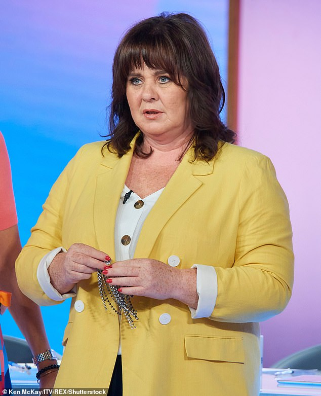 Outspoken: Coleen Nolan has claimed one of her co-stars is a 'diva' backstage despite being viewed as 'lovely' by her colleagues