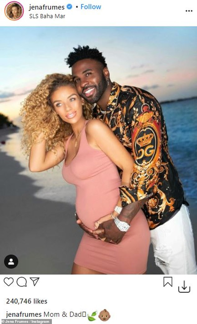 Mom and Dad: The Savage Love singer confirmed he will soon become a dad on Sunday with a dream video from their tropical vacation shared on his huge social media platforms