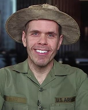 Bombshell: Perez Hilton's (pictured) erratic behaviour on I'm a Celebrity Australia left his co-stars so unsettled they couldn't sleep, ex-contestant Ryan Gallagher claimed this week