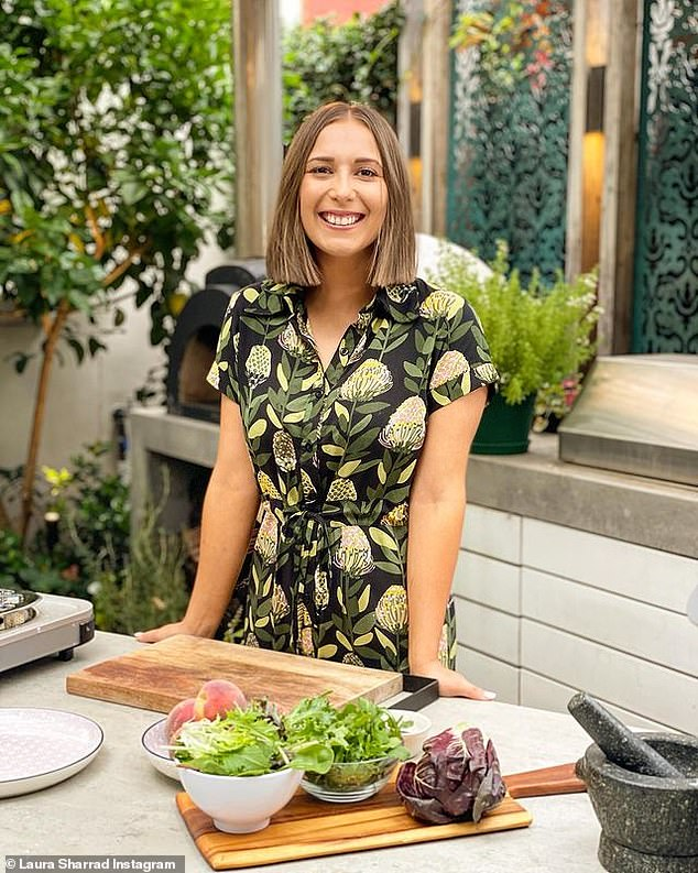 Shocking: MasterChef: Back to Win runner-up Laura Sharrad has revealed she was sent a 'really disturbing message' on Instagram