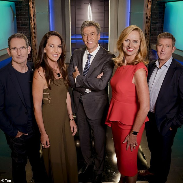 Investors: Shark Tank Australia, which is based on the BBC's Dragon's Den, last aired on Channel 10 back in 2018 and was hosted by Sarah Harris