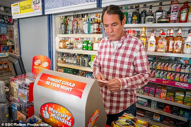 Neil Morrissey (pictured) stars as newsagent Frank Stevenson in the BBC's The Syndicate