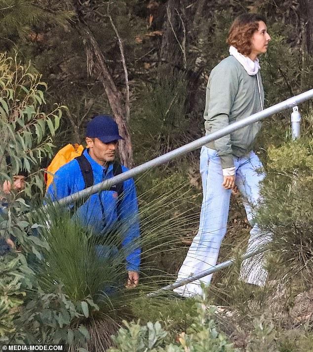 Holiday romance: Vanessa met Zac in Byron Bay in March last year