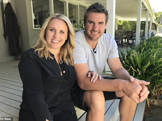 Fame:Former AFL star Darren Jolly and his estranged wife, Deanne, were popular contestants on The Block, appearing twice in 2014 and 2015, and winning the latter season